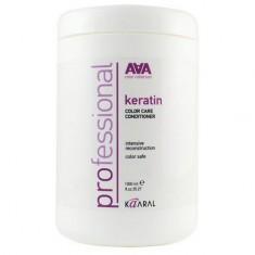 Kaaral, Кондиционер Кeratin Color Care AAA для окрашенных и химически обработанных волос, 1000 мл