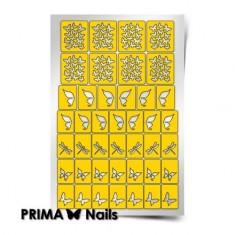 Prima Nails, Трафареты «Бабочки, стрекозки»