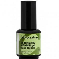 In garden base gel гибридная база с витаминами для гель-лака11 мл In'Garden