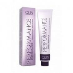Ollin Professional Performance - Перманентная крем-краска для волос, 6-09 темно-русый прозрачно-зеленый, 60 мл. Ollin Professional (Россия)