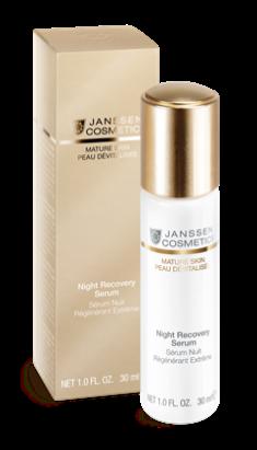 JANSSEN Сыворотка восстанавливающая ночная с комплексом Cellular Regeneration / Night Recovery Serum Anti-age 30 мл