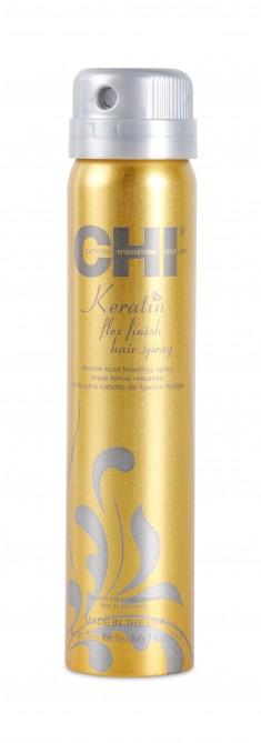 CHI Лак с кератином для волос, средняя фиксация 74 г