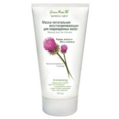 GREEN MAMA Маска питательная восстанавливающая для поврежденных волос