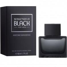 Antonio Banderas Seduction In Black для мужчин Вода туалетная 50 мл спрей