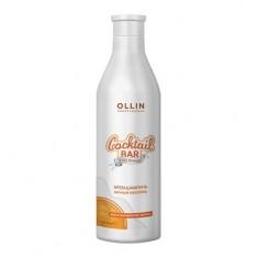 Оллин/Ollin Professional Cocktail BAR Крем-шампунь Яичный коктейль Восстановление волос 500мл