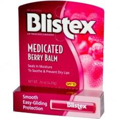 Blistex Medicated Berry Balm бальзам для губ ягодный (с лечебным эффектом)