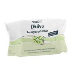 Салфетки очищающие и увлажняющие, 25 шт. (Doliva)