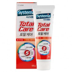 Паста зубная LION SYSTEMA Total care orange mint 120 г CJ LION