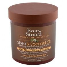 Маска для волос EVERY STRAND с кокосовым маслом и маслом ши в банке 425 г