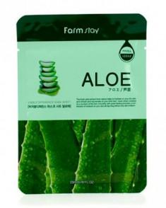 Маска с экстрактом алоэ FARMSTAY Aloe visible difference mask sheet 23 мл