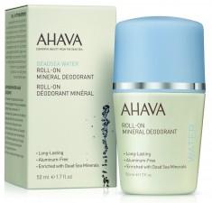 AHAVA Дезодорант шариковый минеральный для женщин / Deadsea Water 50 мл