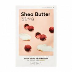 Маска тканевая питательная с маслом Ши MISSHA Airy Fit Sheet Mask (Shea Butter)