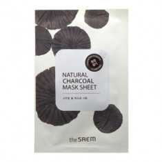 Маска тканевая с древесным углем THE SAEM Natural Charcoal Mask Sheet 21мл