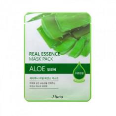Тканевая маска с алоэ Juno JLuna Real Essence Mask Pack Aloe 25мл