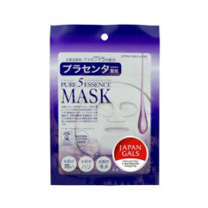 Маска с плацентой Japan Gals Pure5 Essential 1 шт .
