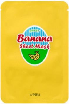 Тканевая маска с экстрактами банана и меда A'PIEU Banana & Honey Sheet Mask