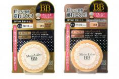 пудра компактная минеральная meishoku moisto-labo bb mineral powder