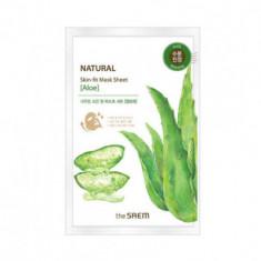 Маска тканевая алоэ THE SAEM Natural Skin Fit Mask Sheet [Aloe] 20ml