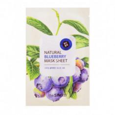 Маска тканевая с экстрактом черники THE SAEM Natural Blueberry Mask Sheet 21мл