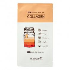 Маска тканевая Коллаген SKINFOOD Boosting Juice 2-step Mask Sheet COLLAGEN 23мл