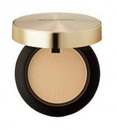 Пудра компактная золотая THE SAEM Eco Soul Luxury Gold Pact 21 Light Beige 9г