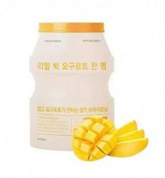 Тканевая маска йогуртовая манго A'PIEU Real Big Yogurt One-Bottle Mango