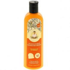Рецепты Бабушки Агафьи Шампунь для волос объем Облепиховый пышность и сияние 280мл