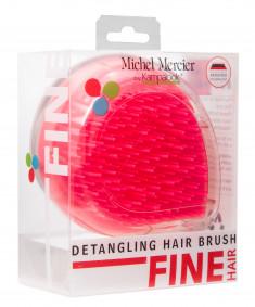 MICHEL MERCIER Щетка компактная для тонких волос / Travel Detangling Brush for Fine hair