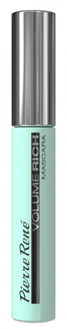 PIERRE RENE PROFESSIONAL Тушь супер объем с круглой щеткой, темно-синяя / Mascara Volume 10 мл