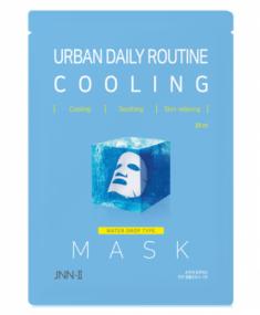 Маска тканевая охлаждающая JUNGNANI JNN-II URBAN DAILY ROUTINE COOLING MASK 25мл