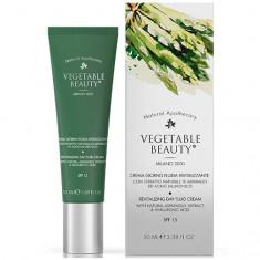 Vegetable Beauty дневной ревитализирующий крем-флюид для лица с экстрактом спаржи и гиалуроновой кислотой SPF15, 50 мл