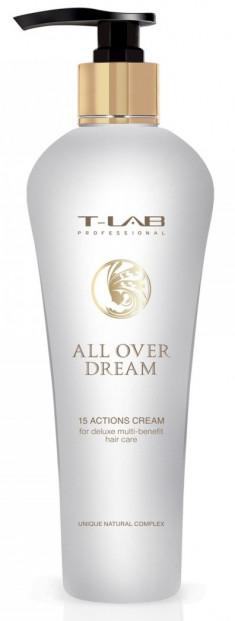 T-LAB PROFESSIONAL Крем многофункциональный 15 в 1 для придания гладкости и блеска, запаивает секущиеся кончики / Finishing 130 мл
