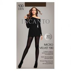 Колготки женские INCANTO MICRO VELVET 100 den тон Moka р-р 2