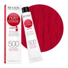 Краска для волос без аммиака Revlon Professional Nutri Color Creme 500 пурпурно-красный 100мл