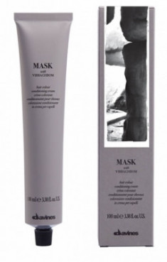Краска для волос Davines Mask with Vibrachrom 5,35 Рыжий махагоновый 100мл