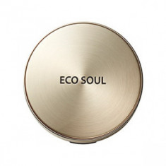 Пудра компактная золотая сменный блок THE SAEM Eco Soul Luxury Gold Pact 23 Natural Beige(Refill)