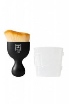 Кисть большая с изогнутой линией для нанесения базы Make-Up Atelier Paris PF01