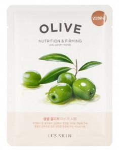 Тканевая маска интенсивно увлажняющая с маслом оливы It'S SKIN The Fresh Olive Mask Sheet 22 г
