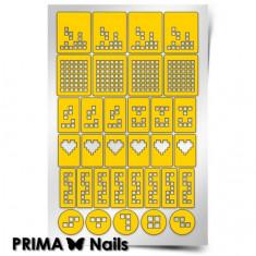 Prima Nails, Трафареты «Тетрис»