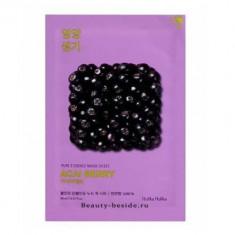 Маска тканевая витаминизирующая ягоды асаи Holika Holika Pure Essence 20 мл