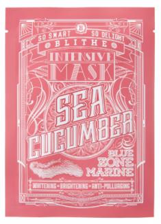 Тканевая маска восстанавливающая с морским огурцом BLITHE Intensive Mask Sea Cucumber 25 г