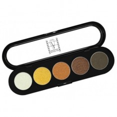 Палитра теней, 5 цветов Make-Up Atelier Paris T14 золотисто- оранжевые тона