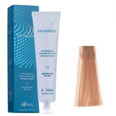 Крем-краситель стойкий без аммиака Kaaral Maraes Nourishing Permanent Hair Color 8.3 светлый золотистый блондин 60 мл