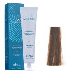 Крем-краситель стойкий без аммиака Kaaral Maraes Nourishing Permanent Hair Color 6.3 темный золотистый каштан 60 мл