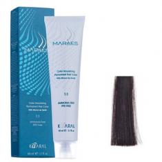 Крем-краситель стойкий без аммиака Kaaral Maraes Nourishing Permanent Hair Color 3.0 темный каштан 60 мл