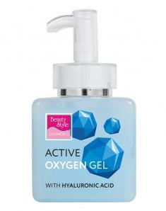 BEAUTY STYLE Гель активный Кислородный гель с гиалуроновой кислотой 250 мл