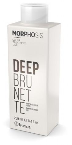 FRAMESI Шампунь для темных оттенков волос / MORPHOSIS DEEP BRUNETTE SHAMPOO 250 мл