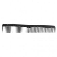 Hairway Professional, Расческа для волос Carbon Advanced комбин, 180 мм