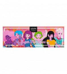 NYX PROFESSIONAL MAKEUP Палетка хайлайтеров Sugar Trip Squad Highlighting Palette