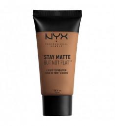 NYX PROFESSIONAL MAKEUP Тональная основа Stay Matte Not Flat Liquid Foundation - Deep Rich 187